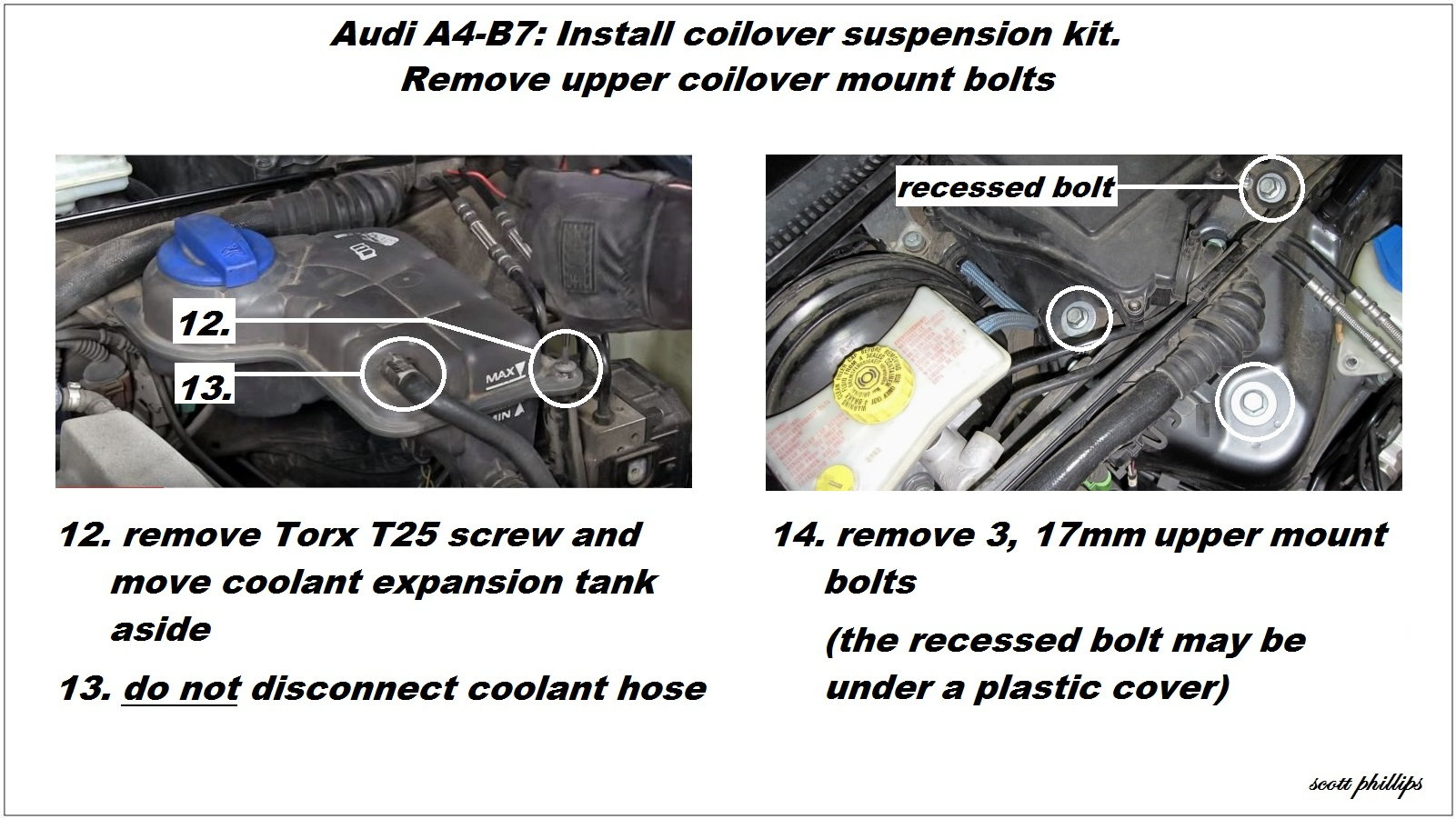 Audi A4 B7 Shock Reviews and How to Install Shock Absorber | Audiworld