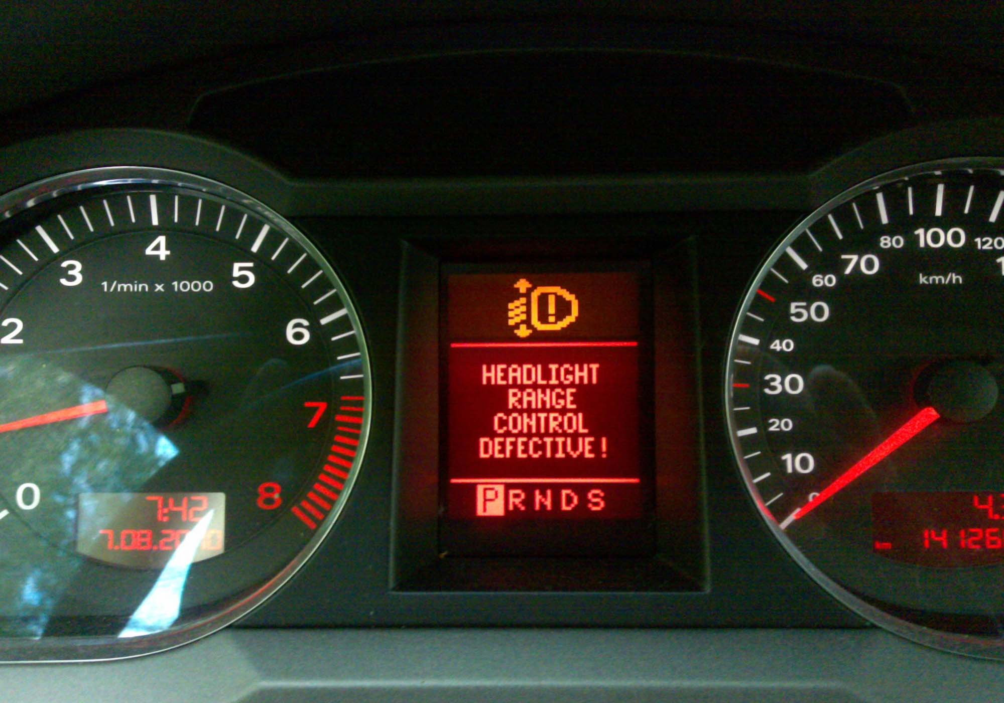Audi Warning Lights Audiworld