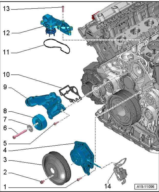 audi a6 c6 how to replace thermostat audiworld audi a4 motor diagram audi a4 engine diagram