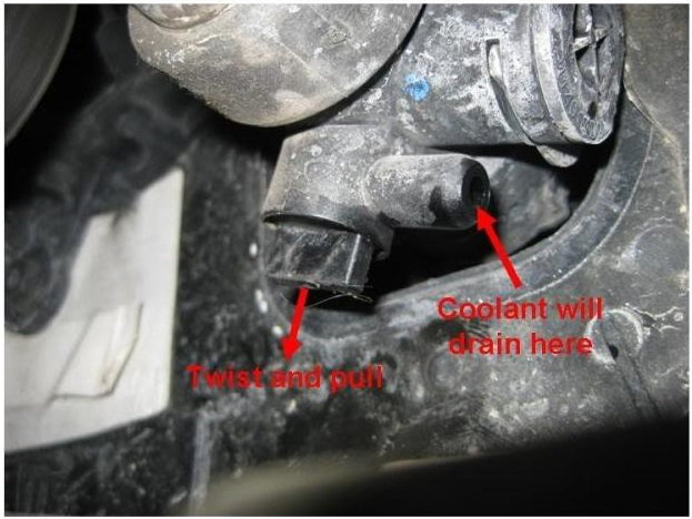 Audi A6 C6 How To Replace Coolant Audiworld