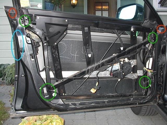 Audi A6 C5 How To Repair Door Contact Sensor Audiworld