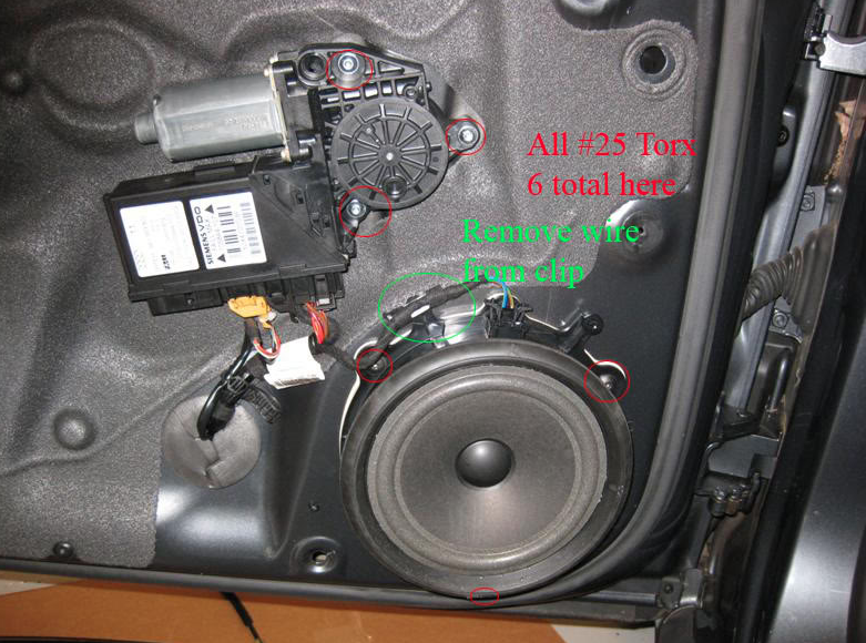 Audi a3 how to replace power window actuator audiworld for 2000 audi tt window motor