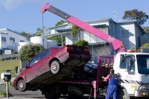 repossession, tow truck