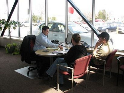 Evaluating the Sales Contract for a Bad Credit Car