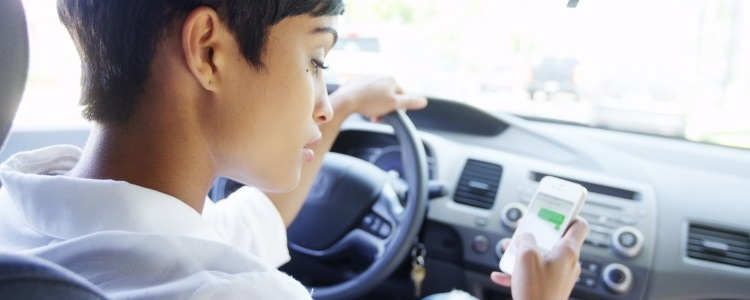 Distracted Driving on the Rise, Find the Safest Used Cars - Banner