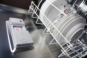 dishwasher soap dispenser