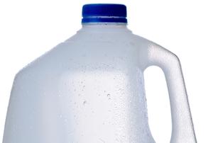 plastic jug for milk or water