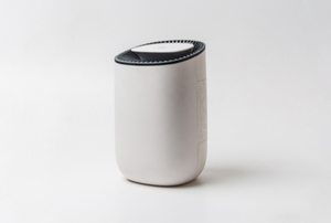 small dehumidifier on white background