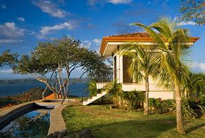 Idyllic tropical retreat