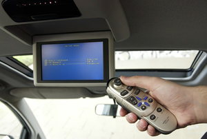 Remote control for car DVD