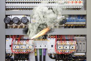 electrical spark