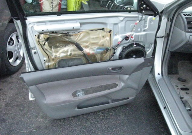 2007 toyota camry door panel removal