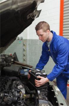 car battery, maintenance, service centre