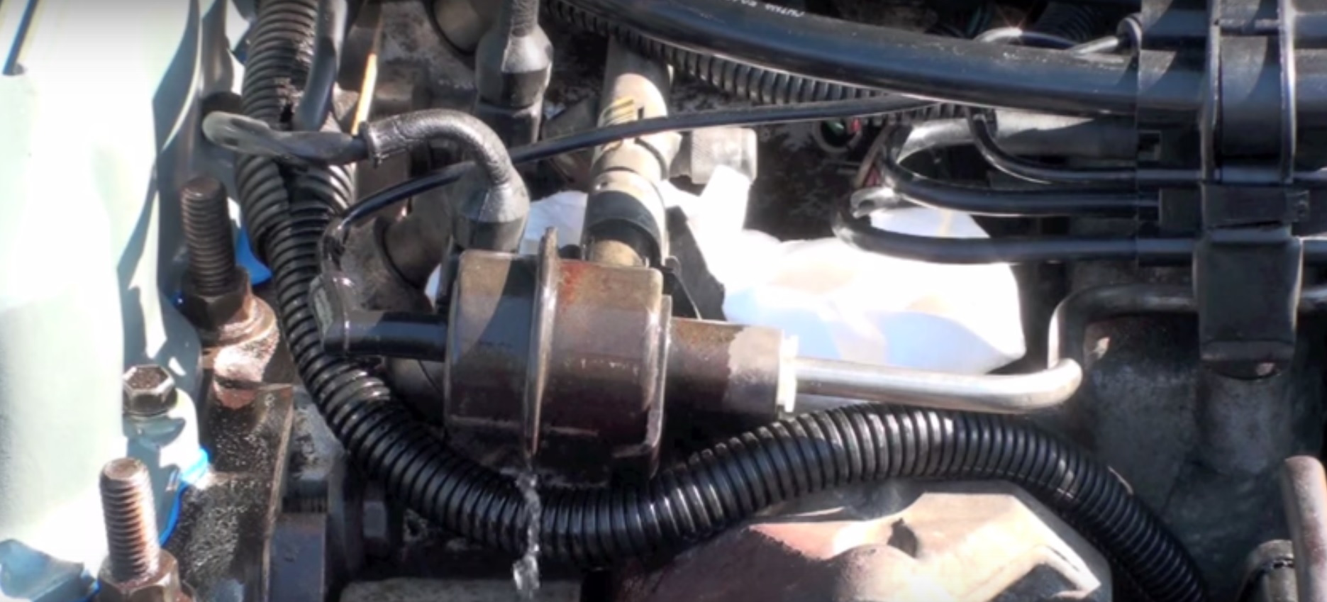 Jeep Cherokee Xj 1984 To 2001 Why Is Jeep Leaking Fuel