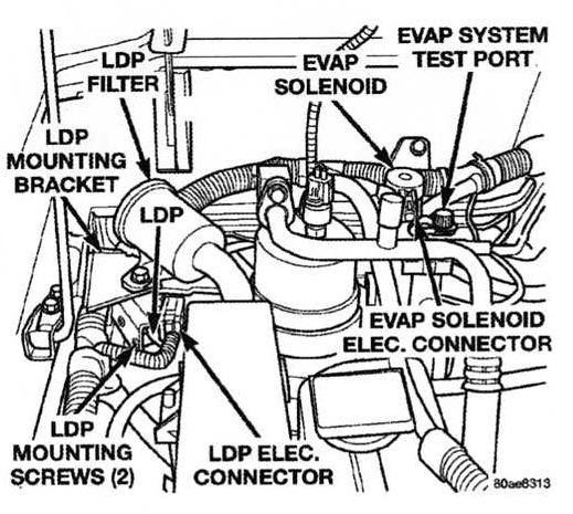 Graphic 2004 Chrysler Sebring Fuel Filter Location