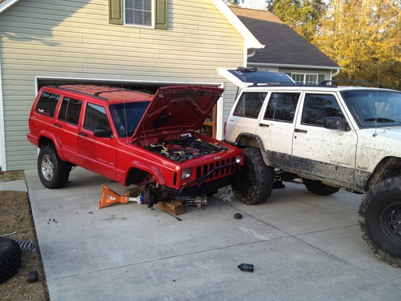 Jeep Cherokee 1984 2001 How To Jack Up Your Car