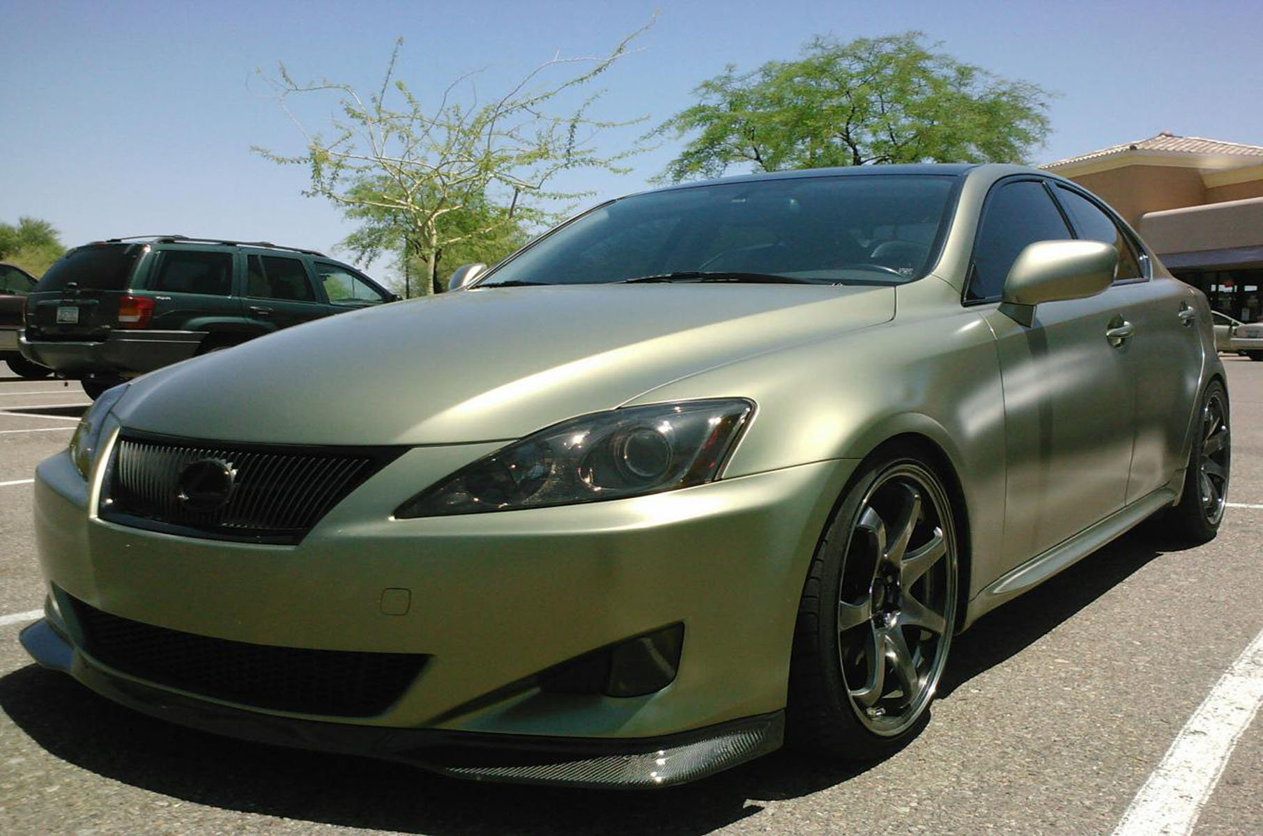 Lexus paint and wrap modifications clublexus for Dark green paint job