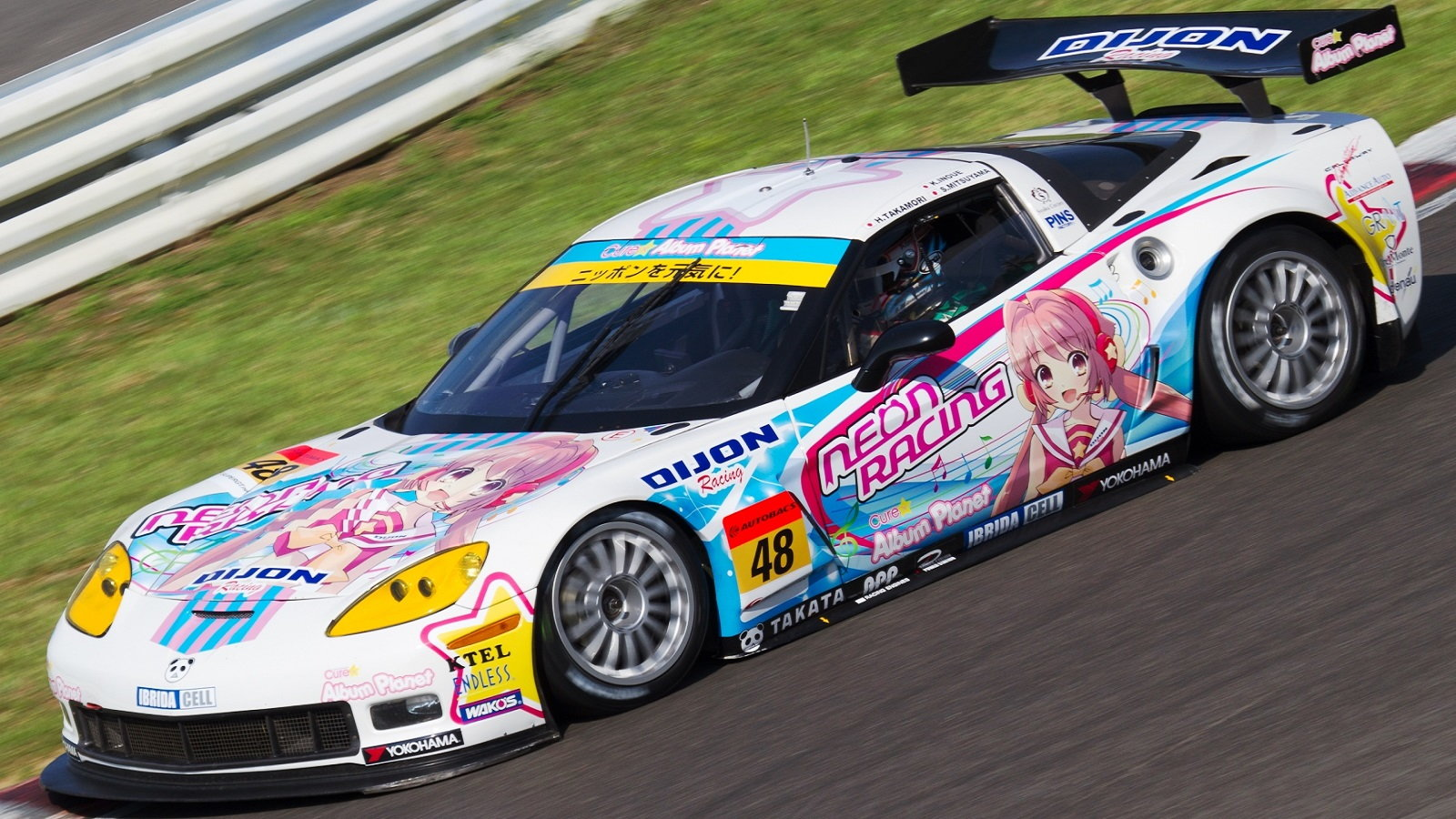 Corvette Racing in Japan