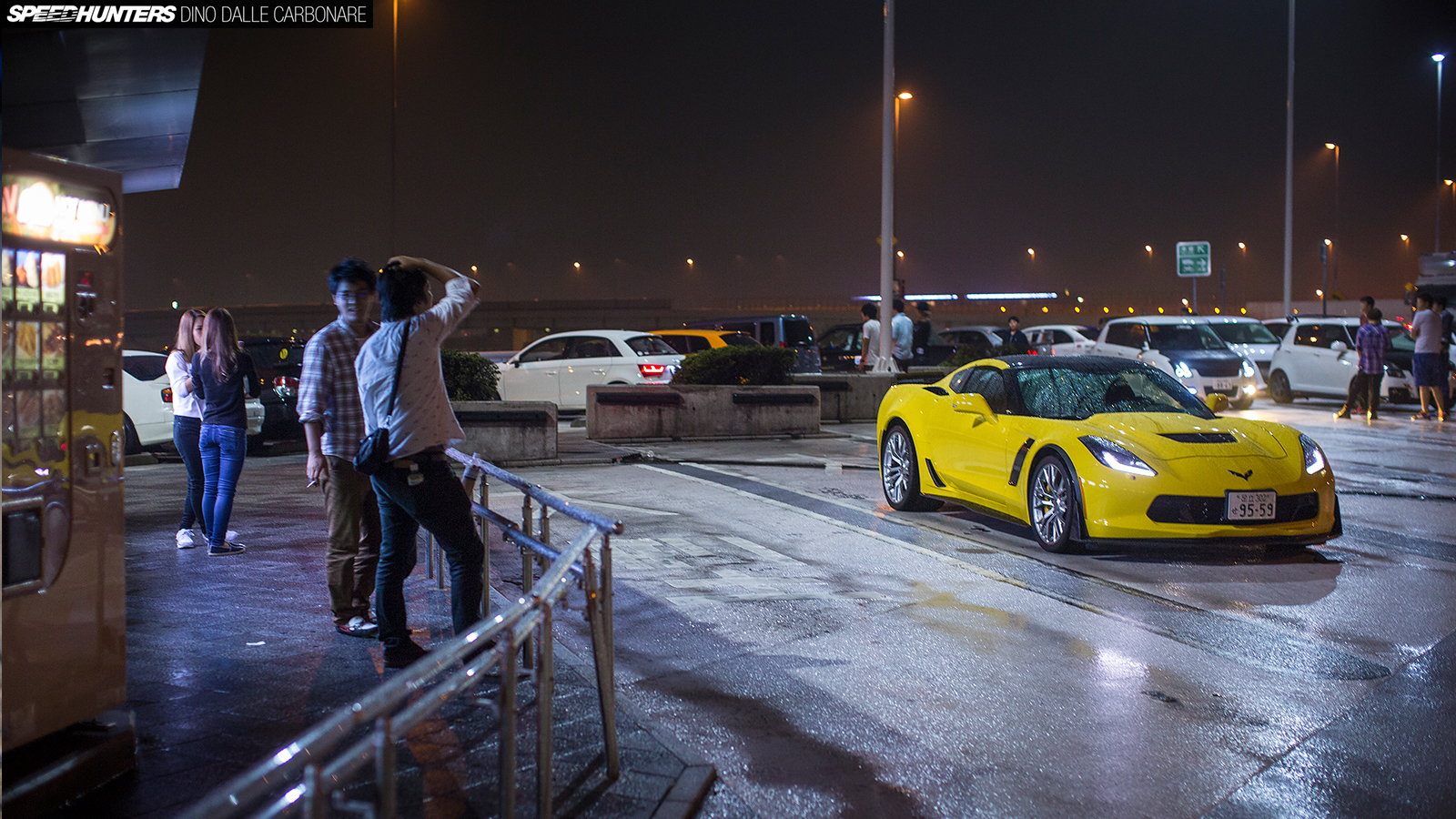 Z06 Corvette Has a Night Out in Tokyo