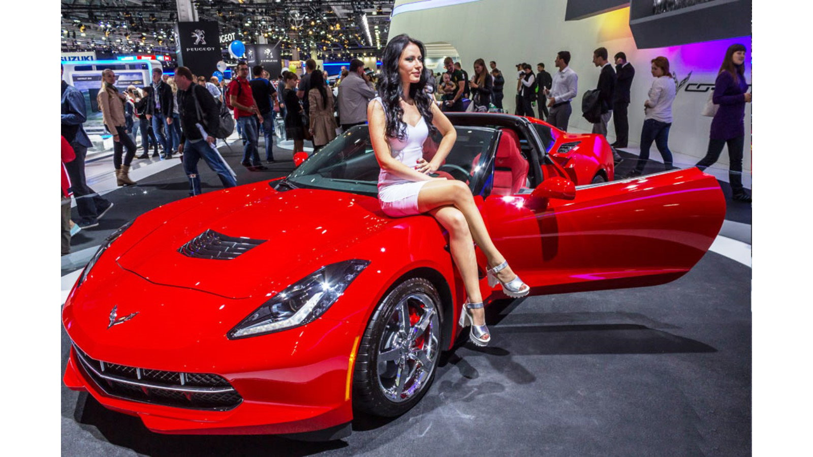 Corvette Stingray at Moscow Salon