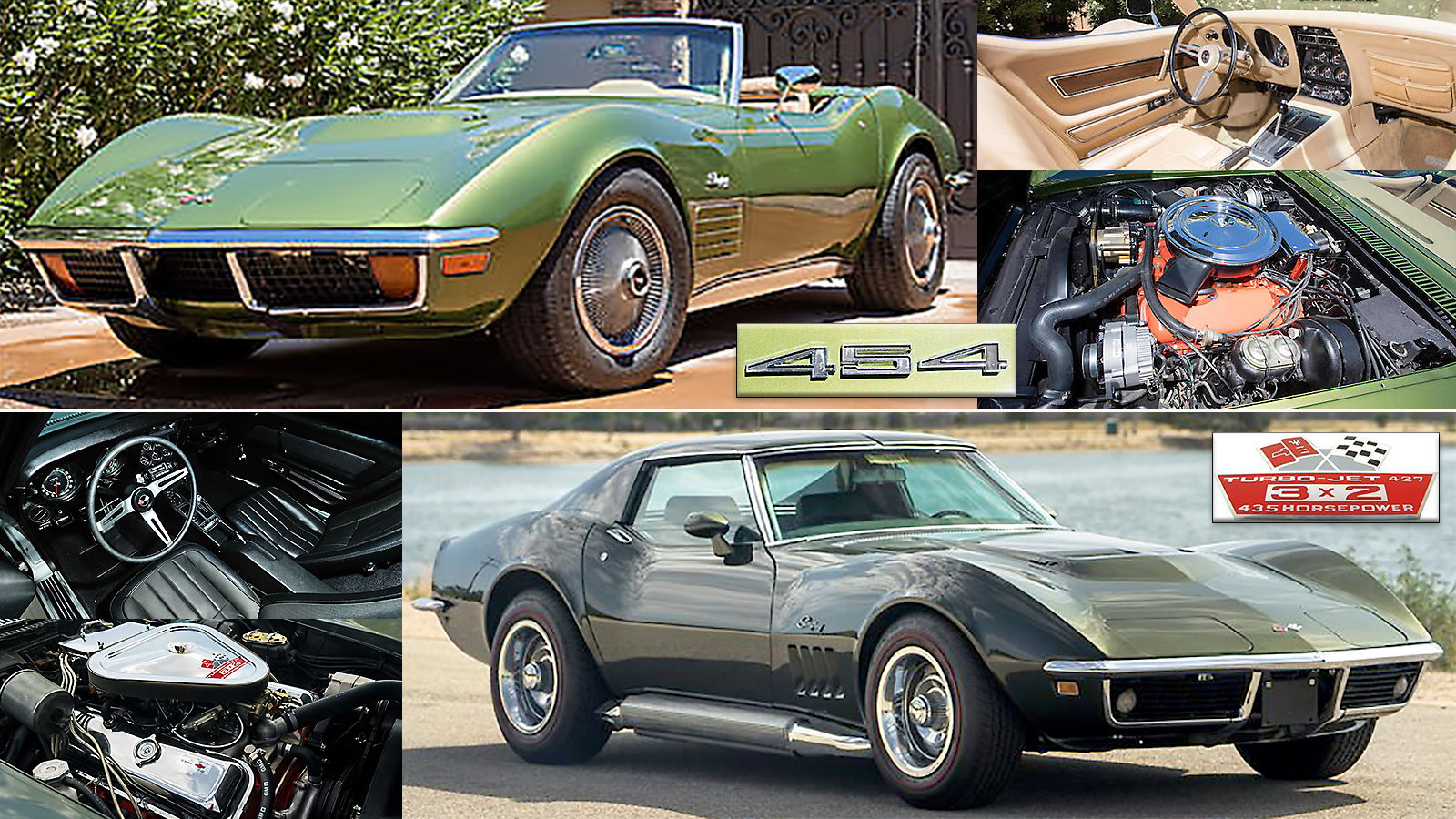Mecum Auctions Lot F24 and Bonhams Auctions Lot #47, Monterey 2017 sales