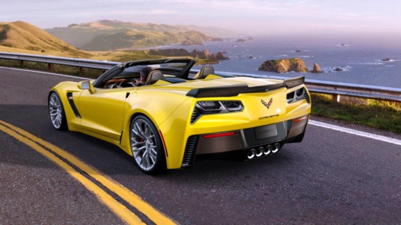 2015 Velocity Yellow Corvette Z06