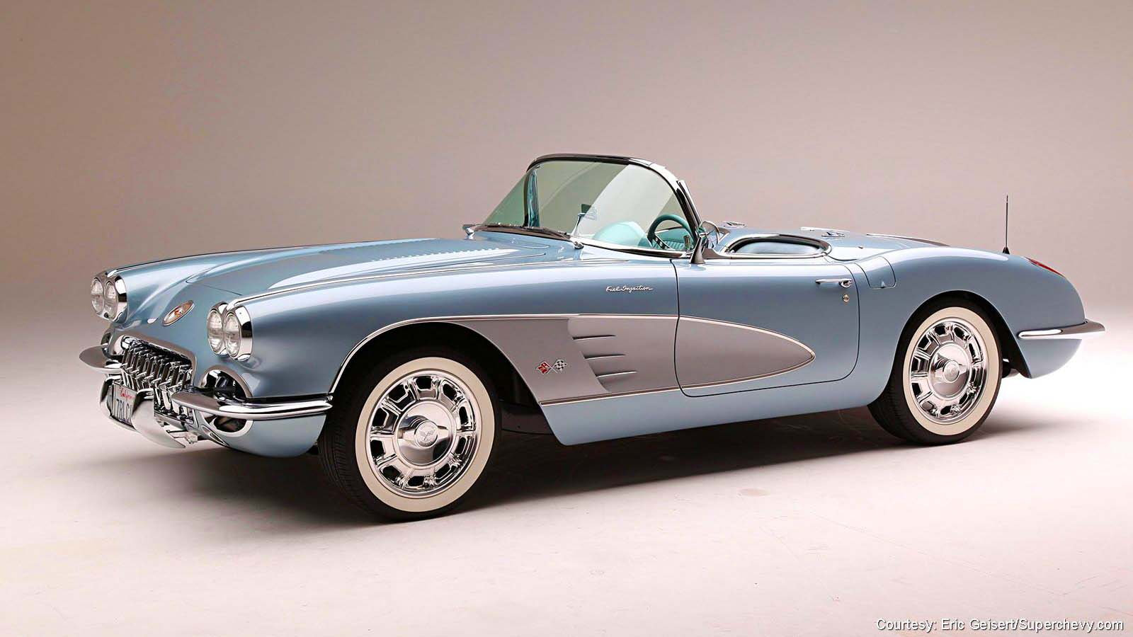 1958 C1 Updated with LS2 Motor