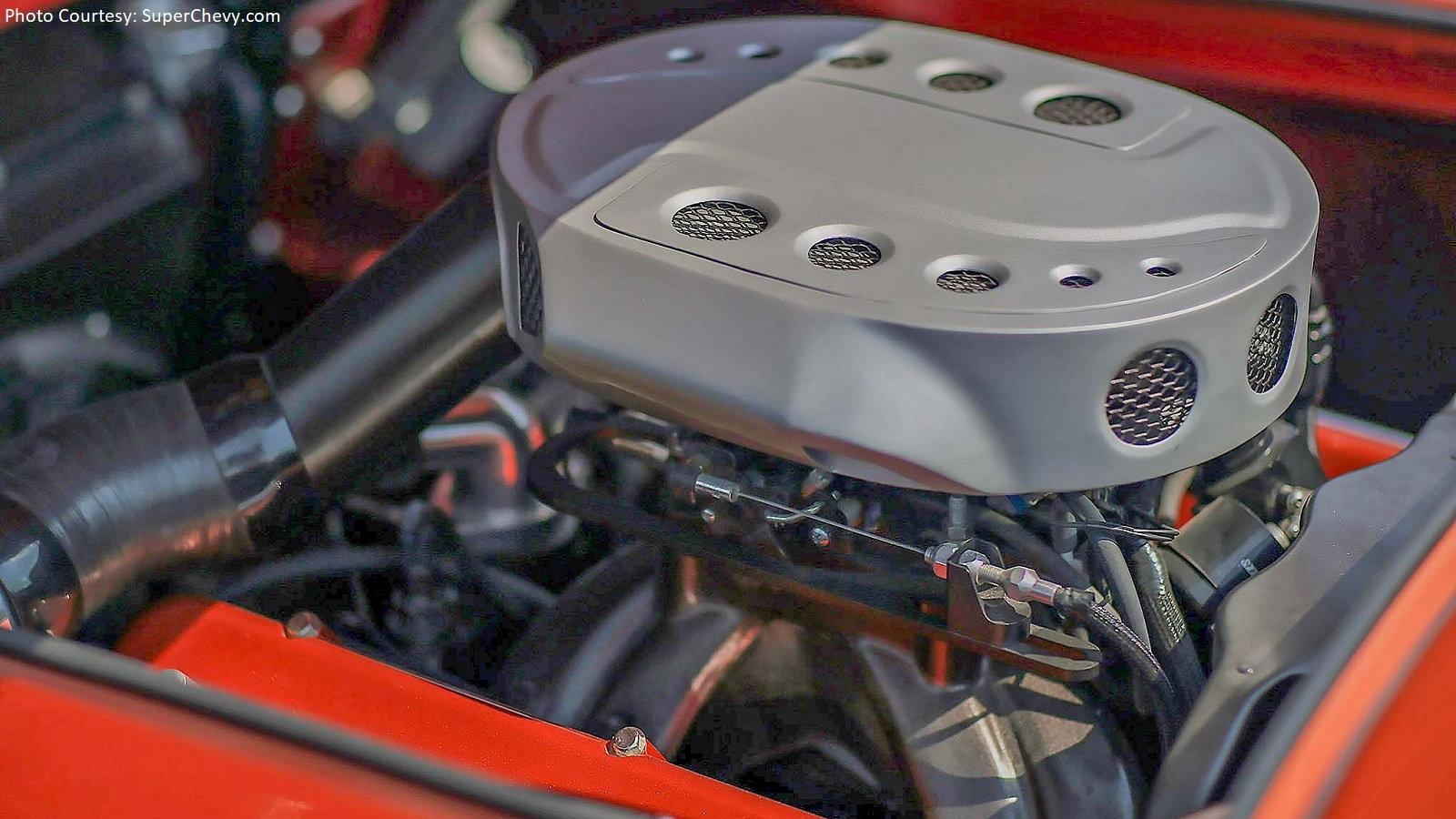 Wild Custom C1 Corvette Roadster Hides Big Block Secret