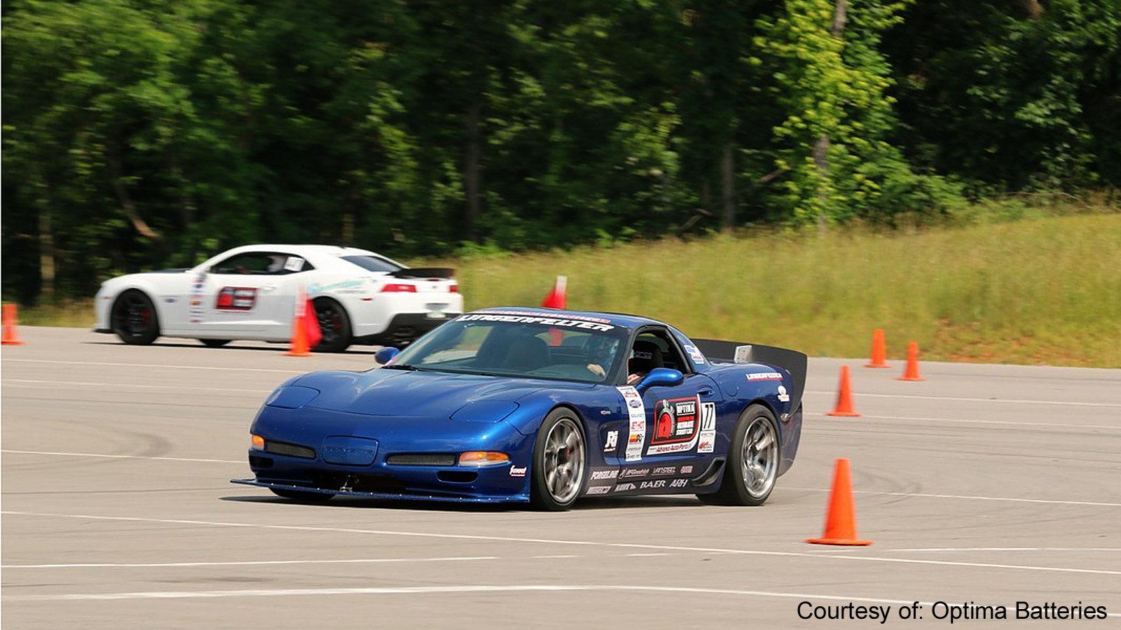 Enter an Autocross Event