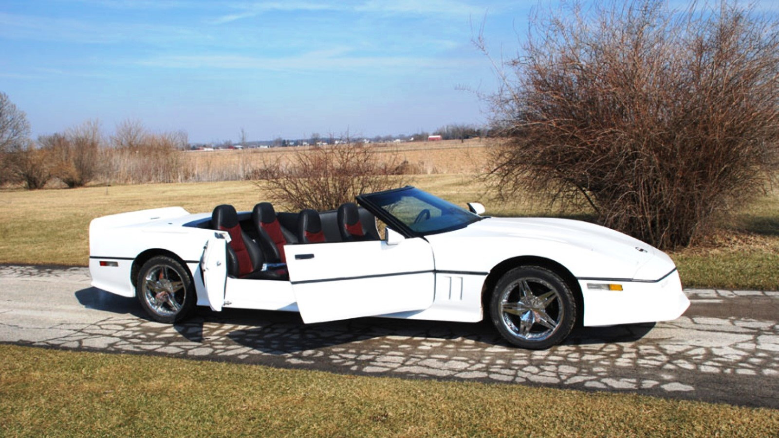 C4 Corvette Convertible Stretch