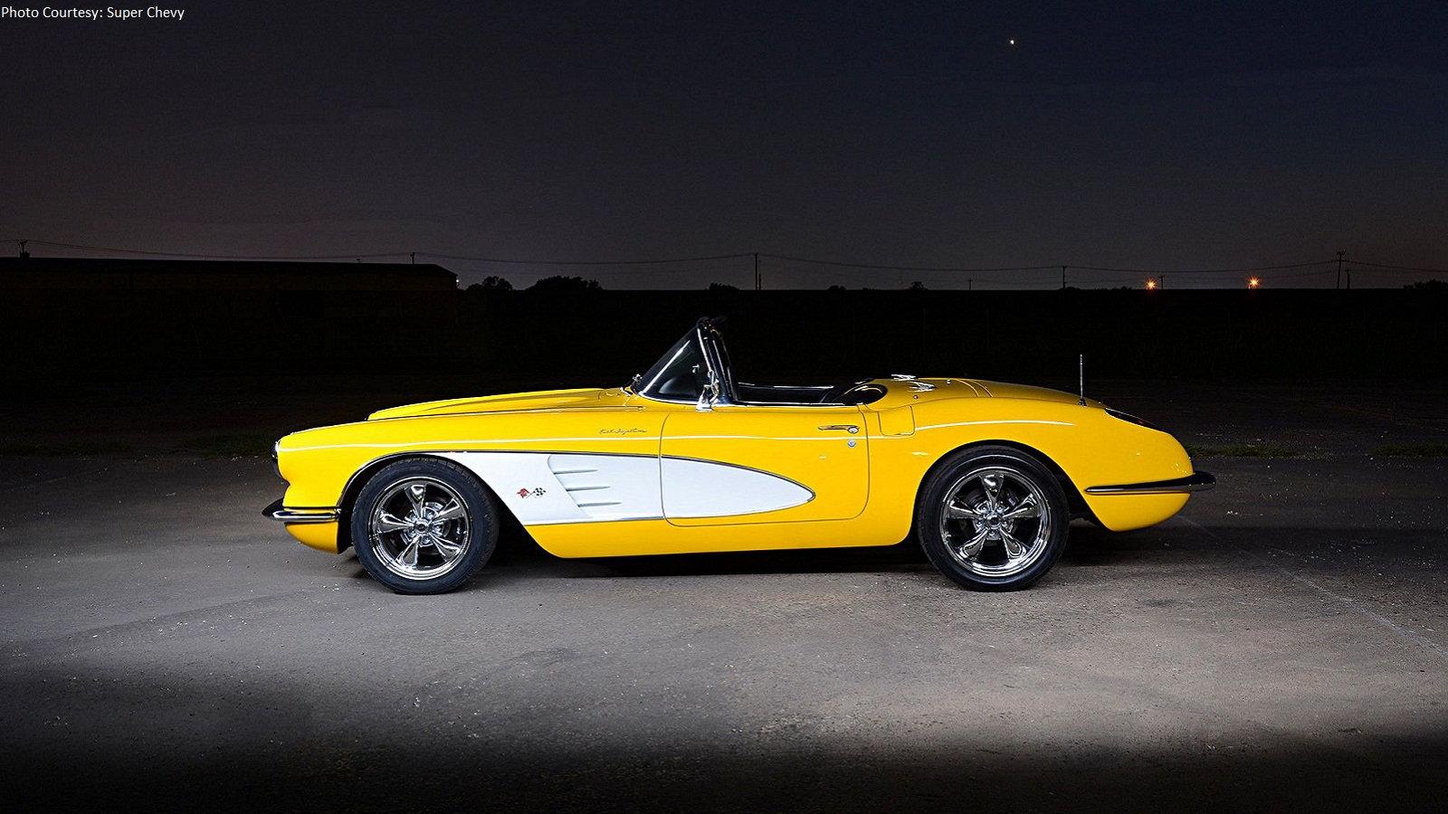 Velocity Yellow C1 Corvette Is Impossible to Ignore