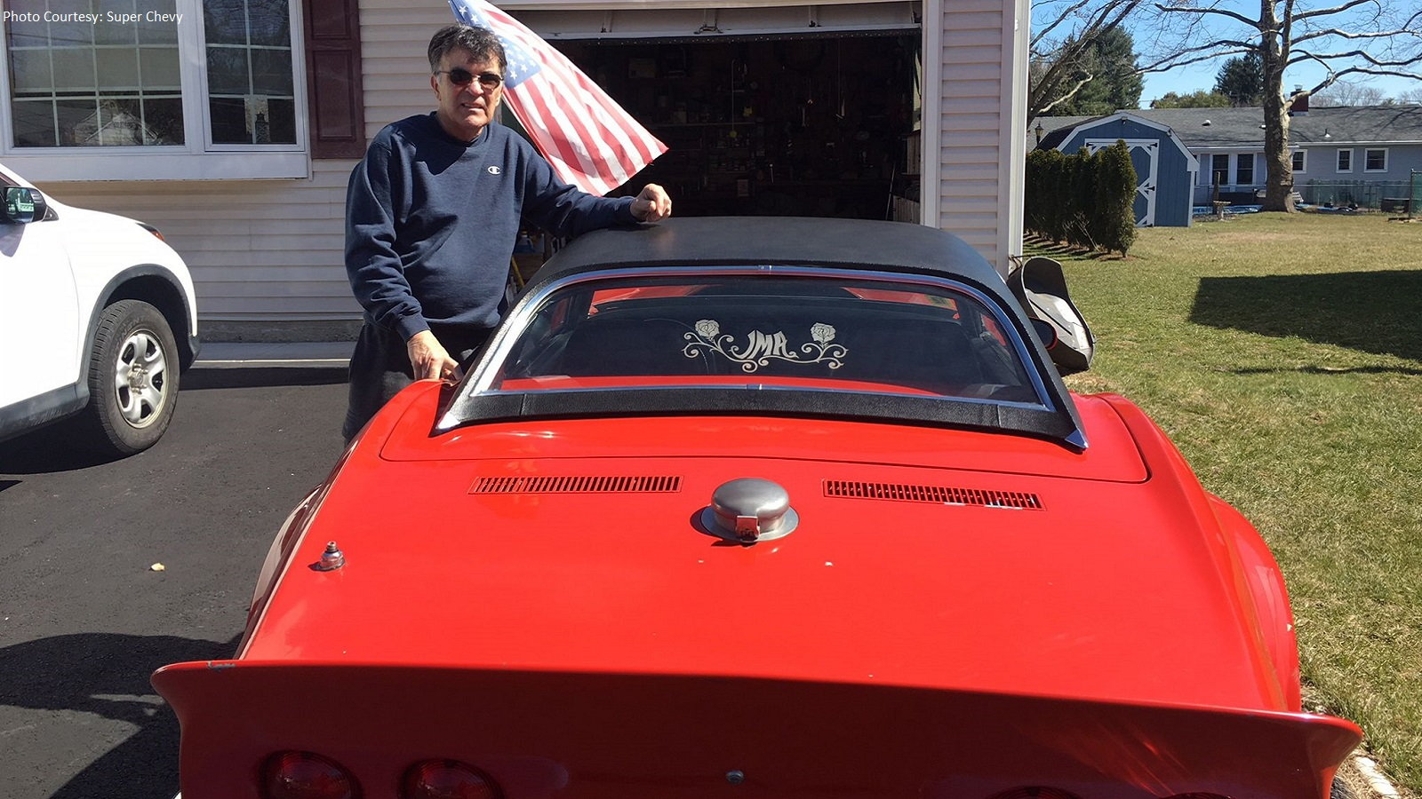 Veteran's C3 Corvette Is the One That Didn't Get Away