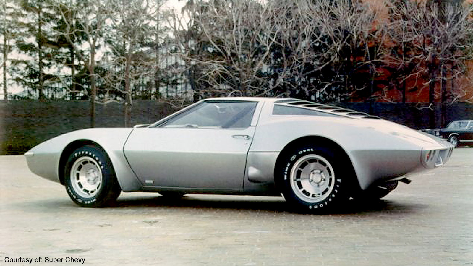The First Mid-Engined Corvette Concept