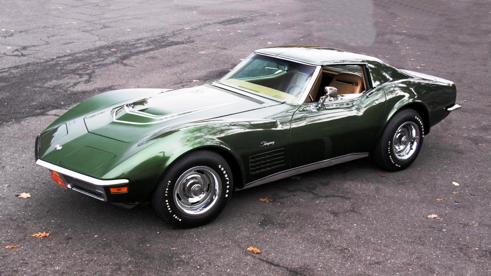 St. Patrick's Day Celebrates the Most Classic Green Corvettes
