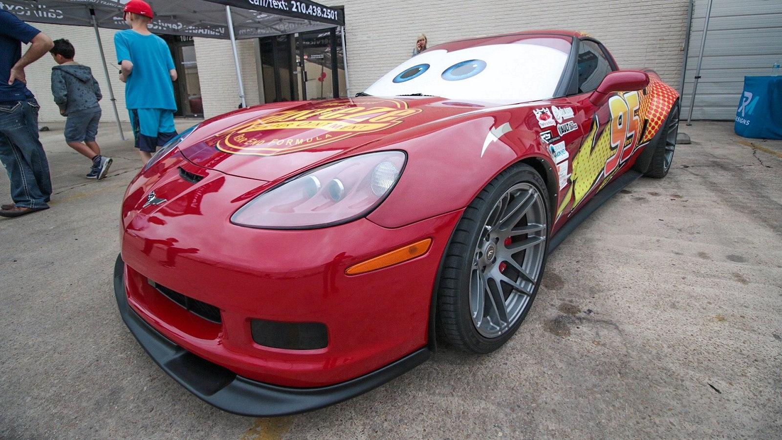 The Lightning McQueen Supervette
