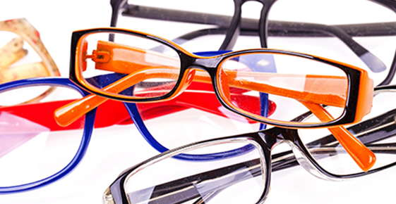 Image of a pile of glasses.