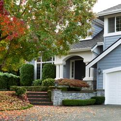 fall foliage curb appeal