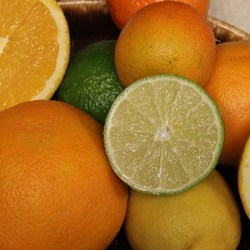 various citrus on a platter