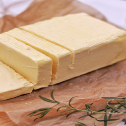 block of butter with herbs