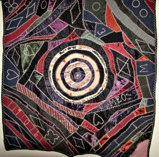 a crazy quilt