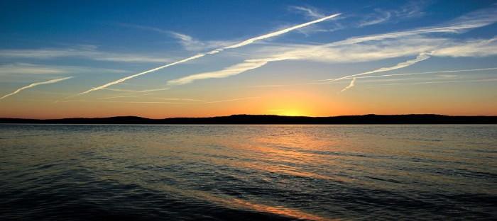 Sunset over Kentucky Lake