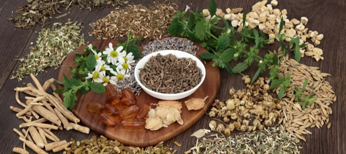 Assorted Crushed and Dried Herbs