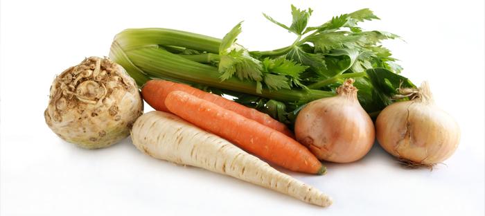 Carrots, Celery, Onions