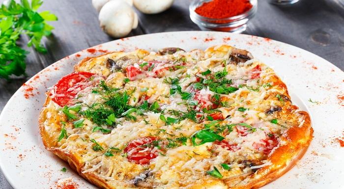 veggie omlette