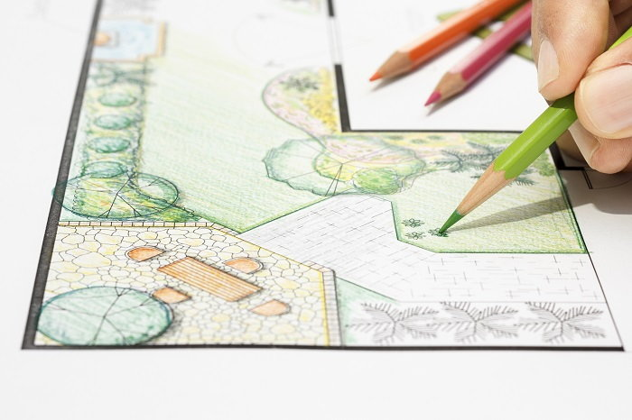 draw out your garden plan before getting your hands dirty