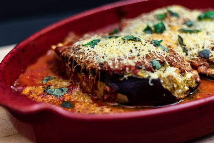 eggplant enchiladas
