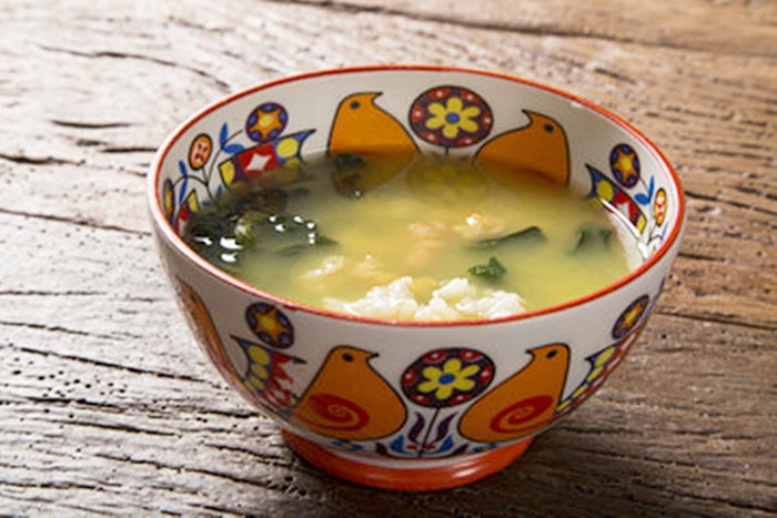 ethnic bowl with soup