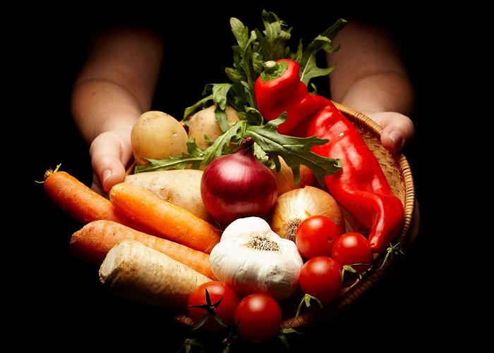 gifting a produce basket