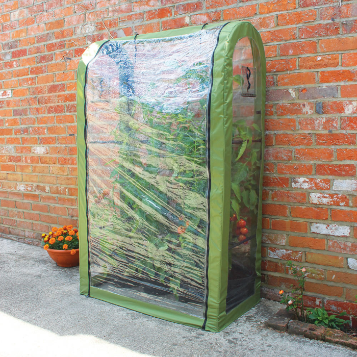 small enclosed hoop ouse