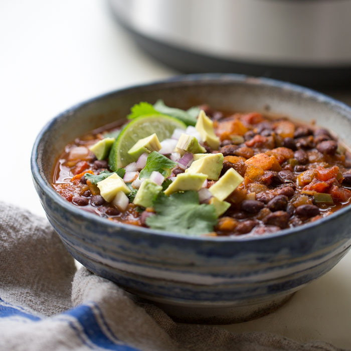 healthy bean and vegetable soup